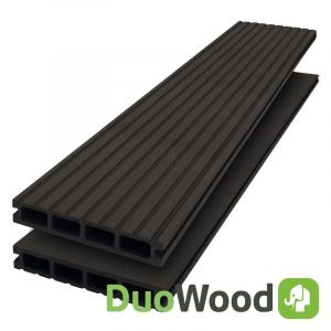 Vlonderplank Composiet DuoWood STD Lava 25x146mm