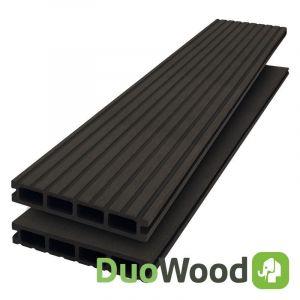 Vlonderplank Composiet DuoWood STD Lava 25x146mm