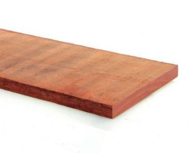 Plank Angelim Hardhout Fijnbezaagd 30x300mm