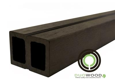 Regel/Balk Composiet DuoWood Lava 40x60x4000mm 2st/set