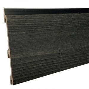 Gevelbekleding Stripes XL Coal Black 24,5x142(163)x5900mm