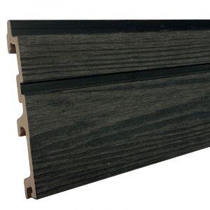 Gevelbekleding Stripes S/L Coal Black 24,5x142(163)x5900mm