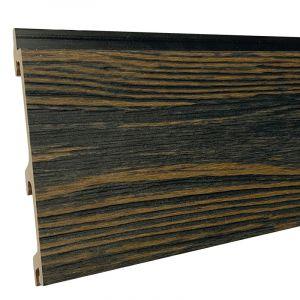 Gevelbekl. Stripes XL Driftwood Black 24,5x142(163)x5900mm