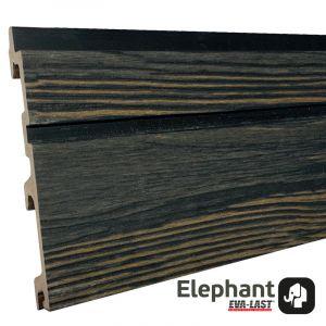 Gevelbekl. Stripes S/L Driftwood Black 24,5x142(163)x5900mm
