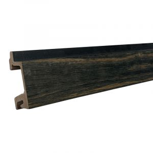 Gevelbekleding Stripes XM Driftwood Black 34,5x66(88)x5900mm