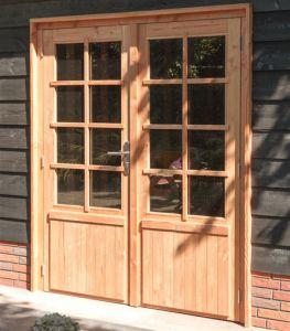 Douglas stelkozijn enkele of dubbele deur