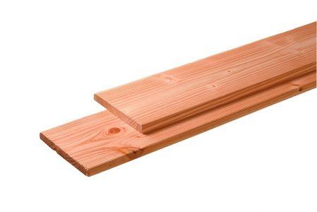Douglas plank fijnbezaagd/geschaafd 28x195mm