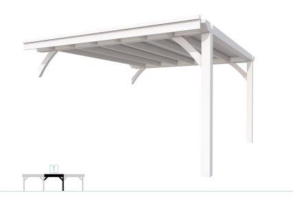Buitenverblijf plat dak Excellent Modulair, vuren, tussenstu