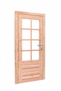 Douglas enkele 8-ruits deur LD 90x201cm