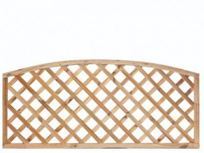 Trellis diagonaal 1800x600mm met tooglijst