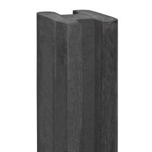 Eindpaal beton Spaarne 115x115x2800 antraciet