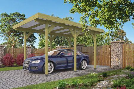Carport Enkel /Aanbouw (excl. dakbedekking)