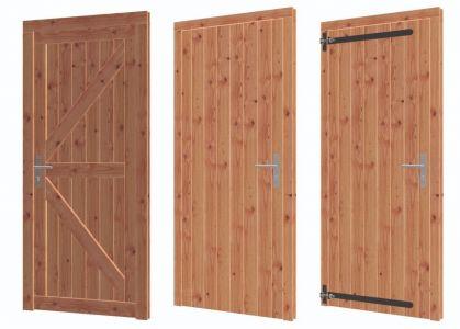 Enkele deur lariks/douglas 86.4x199.6cm