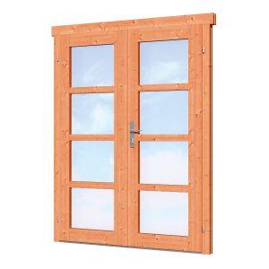 Dubbele deur D1 Red Class Wood