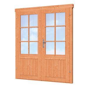 Dubbele deur D3 Red Class Wood