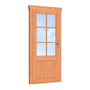 Enkele deur D6 LD Red Class Wood