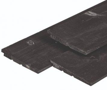 Zweeds-Rabat Eco NE Vuren zwart gespoten 11/22x195mm