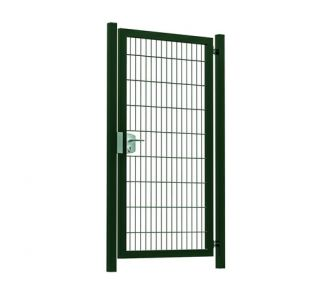 Hillfence metalen enkele poort Premium-line 100x180cm groen