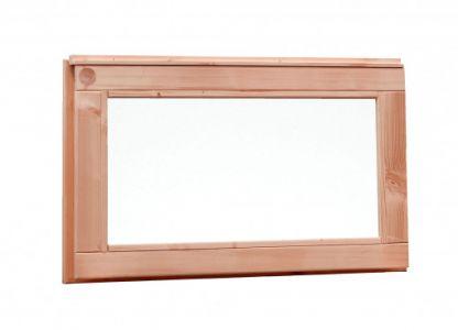 Douglas vast raam met melkglas 72x40cm