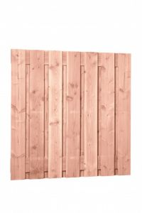 Douglas fijnbezaagd plankenscherm 15-planks 19 mm, 180 x 180