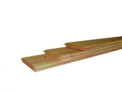 Douglas dakbeschot 1,6x11,6cm groen geïmpr. gesch.