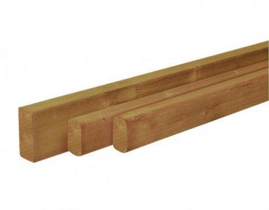 Douglas balk 4,5x9,5x400cm groen geïmpr. gesch.