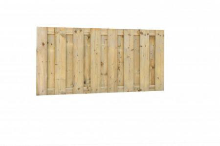 Jumboscherm geschaafd vuren 17-planks 15 mm, 180 x 90 cm, re