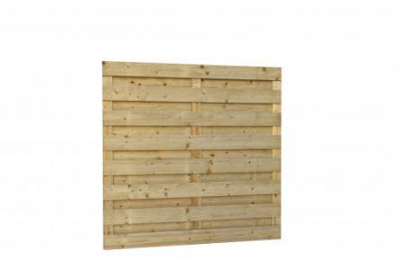 Jumboscherm geschaafd vuren 18-planks 15 mm, 180 x 180 cm, r