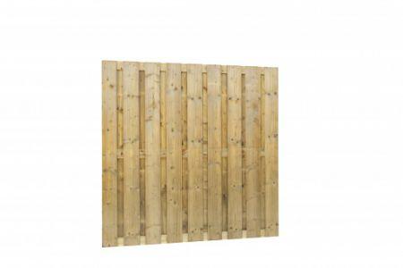 Jumboscherm geschaafd vuren 20-planks 15 mm, 180 x 180 cm, r