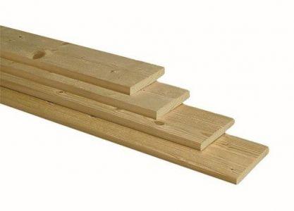 Plank Groen Geïmpregneerd NE Vuren Geschaafd 18x145mm