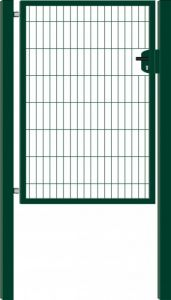 Hillfence metalen enkele poort Eco-line 100x180cm groen