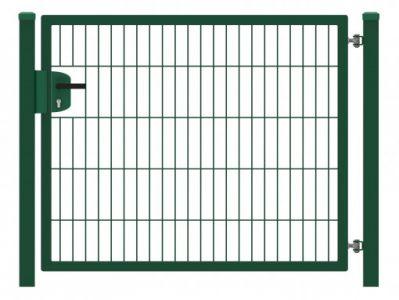 Hillfence metalen enkele poort Eco-line 100x100cm groen