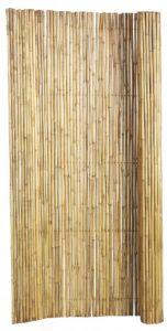 Bamboescherm op rol 180x180cm gelakt