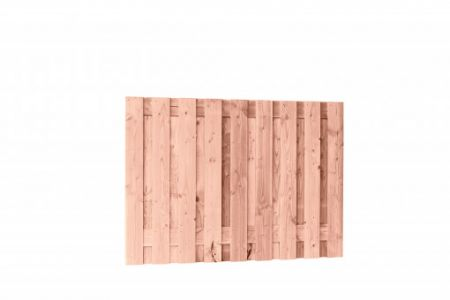 Douglas fijnbezaagd plankenscherm 19-planks 15 mm, 180 x 130