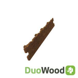 Afdekkapje Composiet DuoWood Havana STD 10st/doos