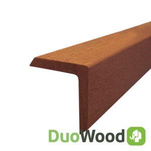 Hoekprofiel Composiet DuoWood Havana 42x42x2000mm
