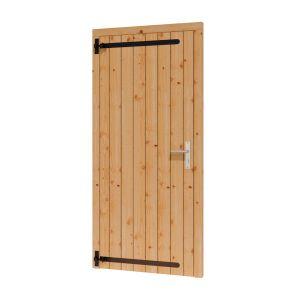 Opgeklampte deur enkel 780x1950+kozijn 914x2021mm