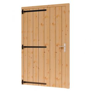 Opgeklampte deur XL enkel 1200x2129+kozijn 1334x2200mm