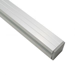 Paal Aluminium Modular 68x68mm t.b.v. op paalvoet