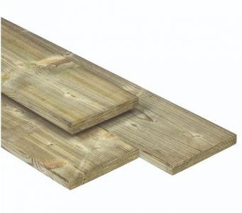 Plank ME geïmpregneerd grenen 16x140mm