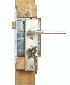 Eindplank geïmpregneerd grenen t.b.v. Solide deur