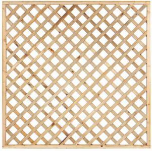 Trellis diagonaal recht met rechte lijst B180xH180cm