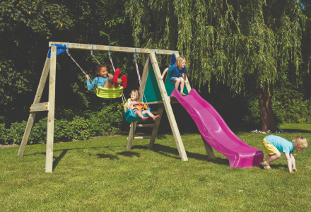 Schommel Blue rabbit Deckswing