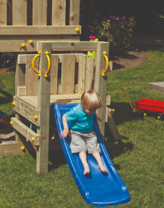 Speel huisje Blue Rabbit Platform