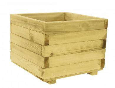 Bloembak vierkant 39 x 50 x 50 cm (HxBxD).