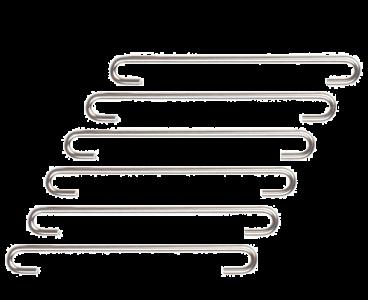 Gaasverbinder 9cm RVS