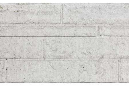 Beton Rotsmotief vulplaat wit/grijs 184