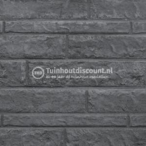 Onderplaat B antraciet gecoat Romeins rotsmotief 260x48x1840