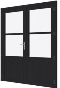 DOUGLAS Steellook paneeldeur dubbel 2x880x2274mm + kozijn 18