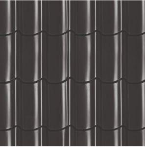 Dakpanprofielplaten zwart